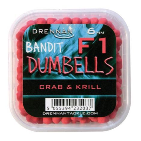 Drennan Method Pellet Dumbells 6mm Crab-Krill
