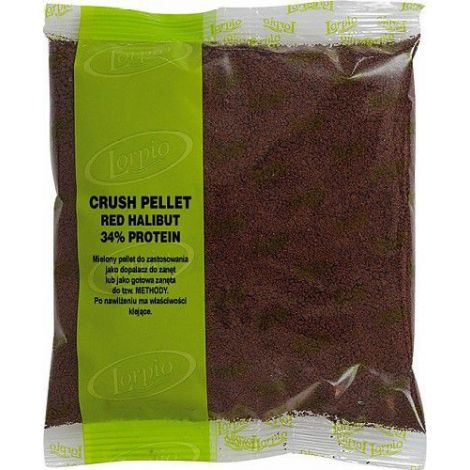 Lorpio Pellet Method Crush 500g Red Halibut