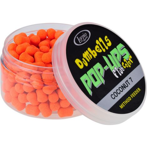 Lorpio Dumbells 7 mm Pop-Ups Coconut 50g