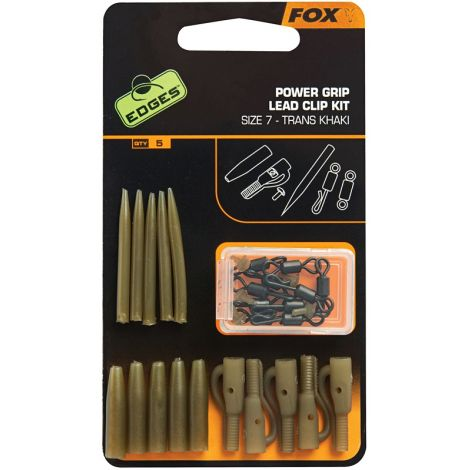 Fox Akcesoria Edges Surefit Lead Clip Kit x 5szt.
