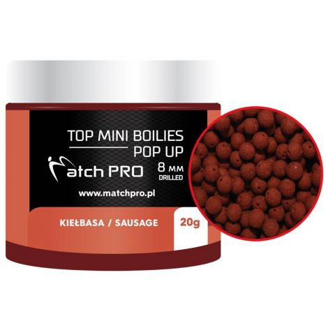 Matchpro Top Boilies kulki Pop Up 8mm Kiełbasa