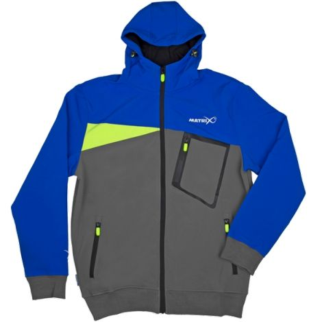 Matrix Kurtka Soft Shell Hoody Blue XL