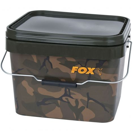 Fox Wiadro Camo Square Bucket 17l