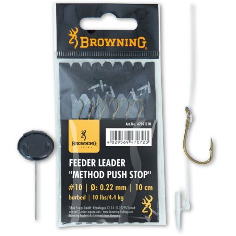 Browning przypony Method Pushstop Nr10 Barbed