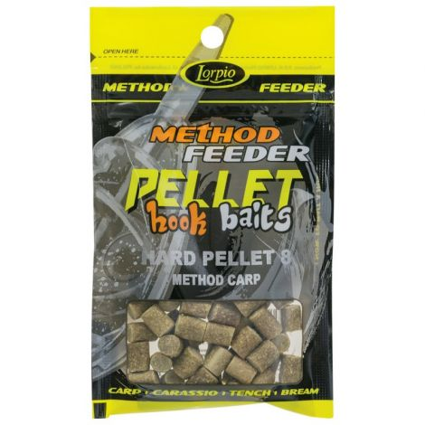 Lorpio Hook Baits Hard Pellet 8mm Method Carp
