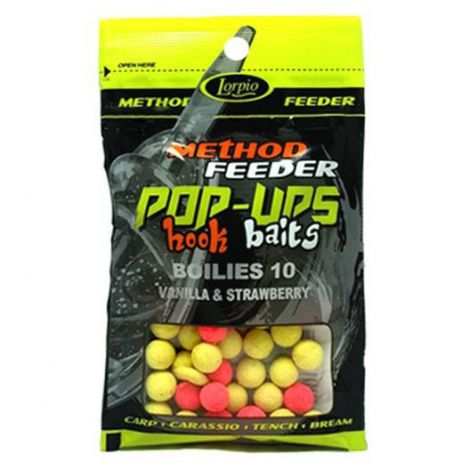 Lorpio Pop-Up Baits kulki 10mm Vanilla-Strawberry