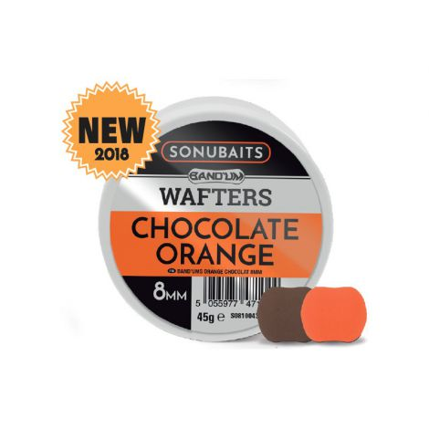Sonubaits Wafters Band Um 8mm Chocolate Orange