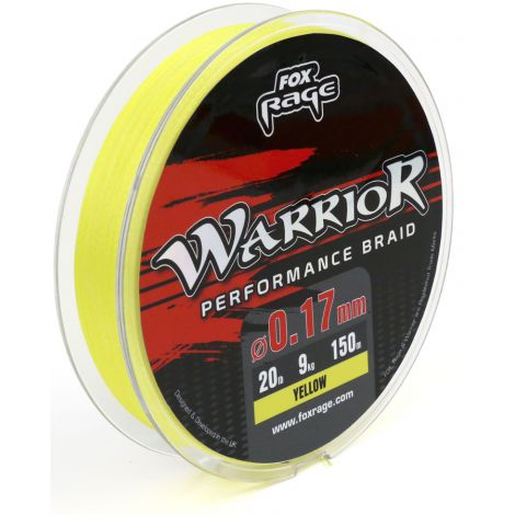 Fox Rage plecionka Warrior Braid 0,12mm/150m